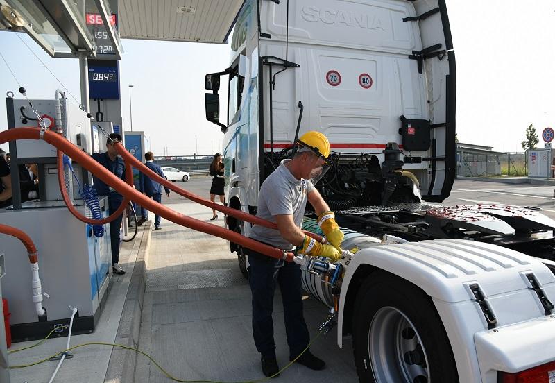 Scania e Socogas per LNG su A35 Brebemi