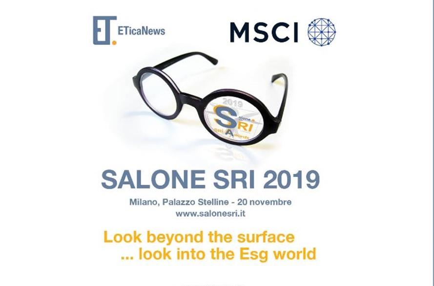 Salone SRI 2019. Il mondo ESG