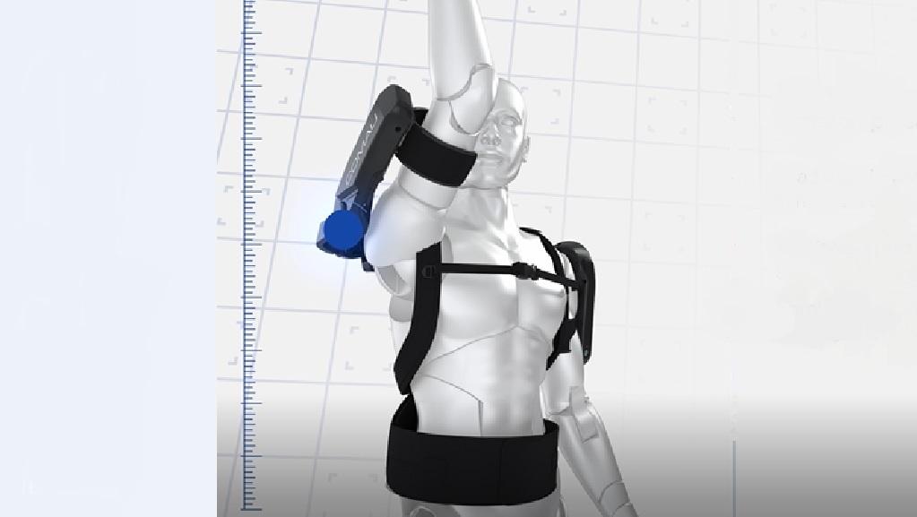 Esoscheletro per lavoratori in industria