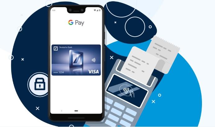 Deutsche Bank con Google Pay accelera
