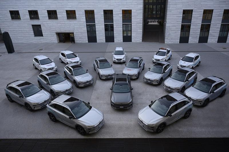 Hyundai a idrogeno a Bolzano