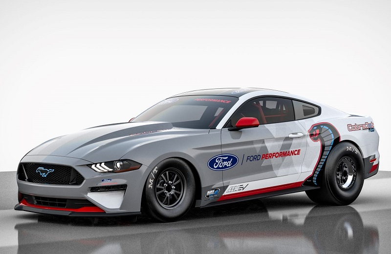 Ford all-electric Mustang Cobra