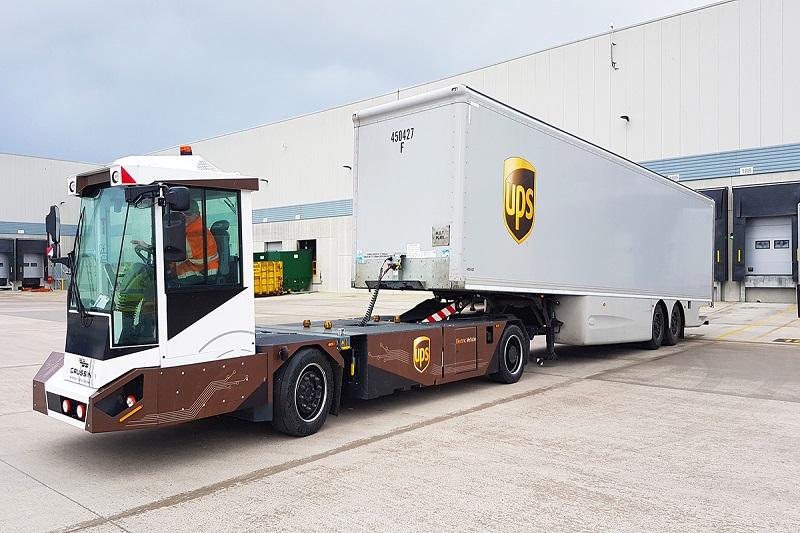 UPS elettrici guida autonoma