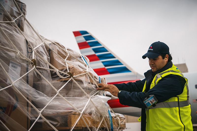 American Airlines increases cargo
