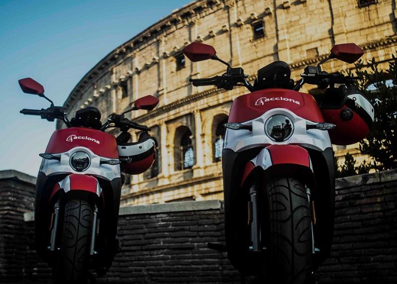 1.700 moto elettriche a Roma