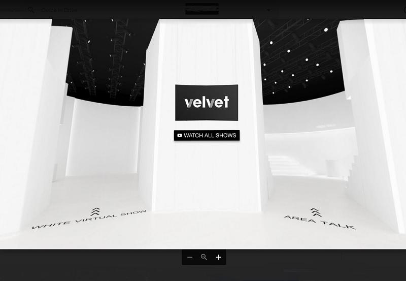 Fashion virtual show