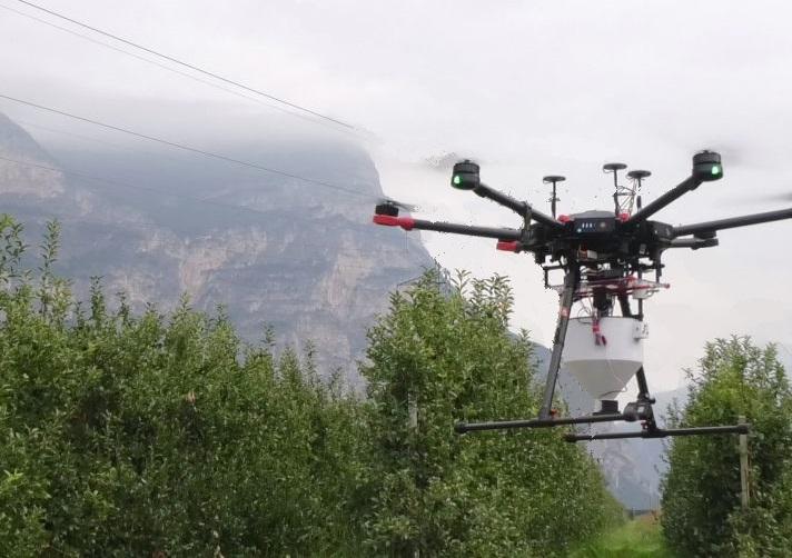 Droni contro mosche