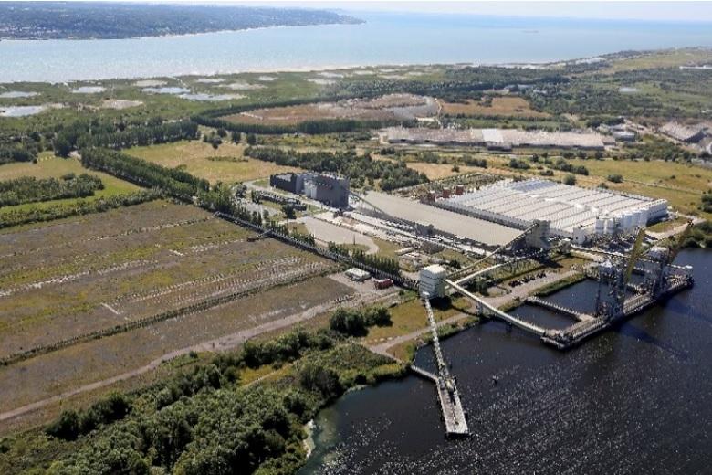 Le Havre Port multi-bulk terminal