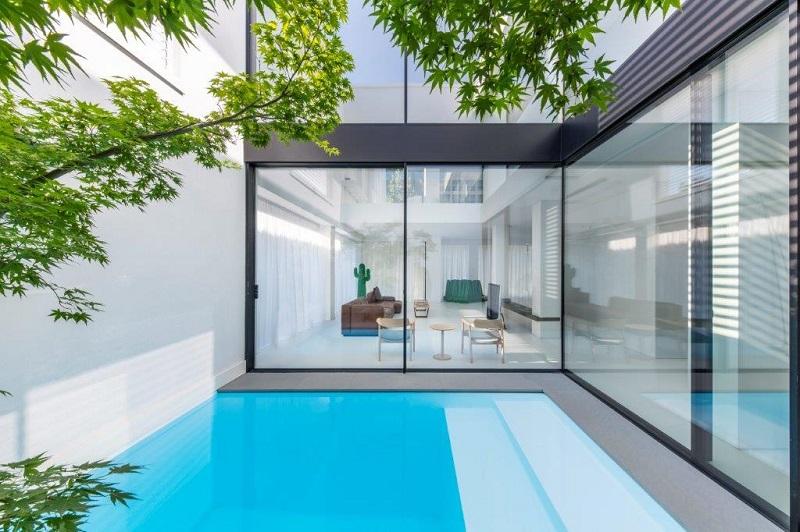 T House: leggerezza architettonica