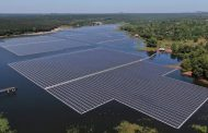 Floating solar power complex