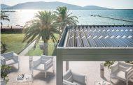 Pergola bioclimatica fotovoltaica
