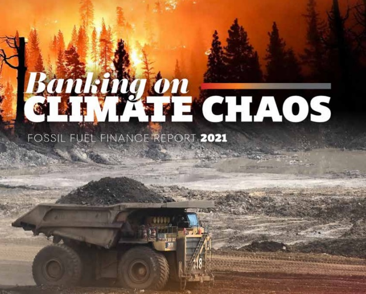 Banks still involved in fossil fuels