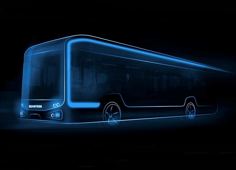 Electric 12-metre bus